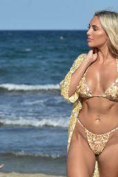 Amber Turner in a Bikini - Dubai 12/09/2020