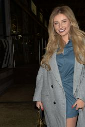 Amy Hart at 29 Restaurant in London 12/12/2020