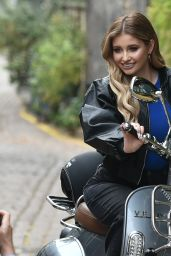 Amy Hart - Filming an Advert for Velo Scooters 11/30/2020