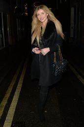 Amy Hart - Heading to Dinner at Hakkasan Restaurant in Mayfair 12/14/2020