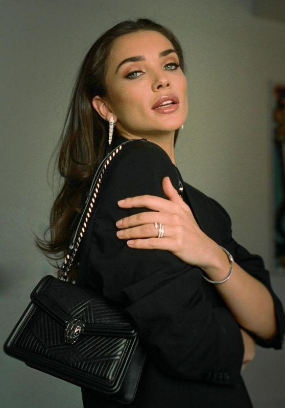 Amy Jackson - Bulgari December 2020