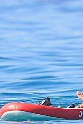 Antonella Roccuzzo in a Bikini - Ibiza 07/18/2020