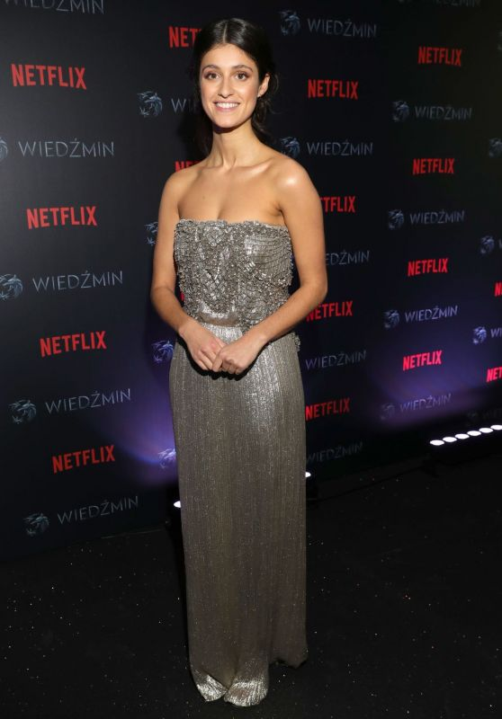 """Anya Chalotra - """"The Witcher"""" Premiere in Warsaw 12/18/2019"""