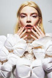 Anya Taylor-Joy - Grazia Magazine Italy 12/12/2020 Issue