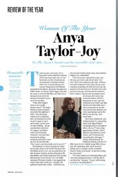 Anya Taylor-Joy - Total Film Christmas 2020 Issue