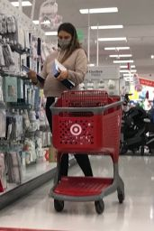 April Love Geary - Shopping at Target in Thousand Oaks 12/10/2020