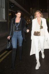 Arabella Chi Night Out Style - Number 21 Soho Square in London 12/11/2020