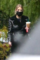 Ashley Benson at Starbucks in Los Feliz 12/28/2020