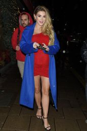Ashley James Night Out Style - Mayfair, London - 12/8/20