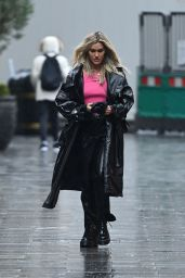 Ashley Roberts - Leaving Global Studios in London 12/03/2020