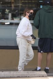 Ashley Tisdale at EarthBar in Beverly Hills 12/14/2020