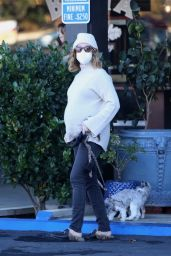 Ashley Tisdale at Whizin Market Square in Agoura Hills 12/29/2020