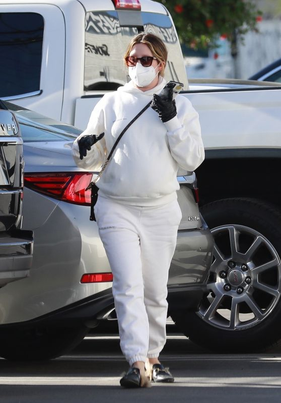 Ashley Tisdale - Shopping in Van Nuys 12/20/2020