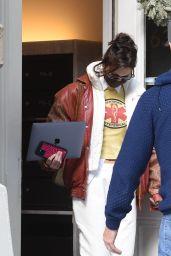 Bella Hadid Cute Style - NYC 12/18/2020
