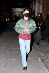 Bella Hadid in Casual Outfit - New York City 12/22/2020