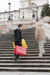 Bella Thorne - Christmas Shopping at Balenciaga in Rome 12/13/2020