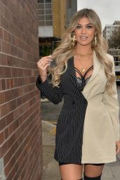 Belle Hassan – Arriving at HLD Studios in London 12/14/2020