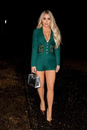 Bianca Gascoigne Night Out Style - Sheesh in Chigwell 12/13/2020