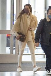 Brooke Shields - Arriving to JFK Airport in NY 12/12/2020