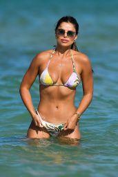 Brooks Nader in a Printed Bikini in Miami Beach 12/14/2020