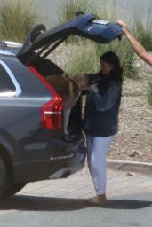 Camila Morrone - Take the Dogs to a Dog Park in LA 12/23/2020