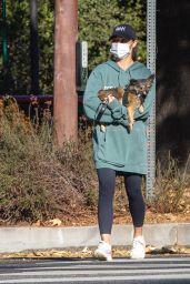 Cara Santana Goes for a Hike in Beverly Hills 12/16/2020