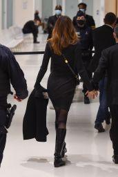 Carla Bruni at Paris Courthouse 12/09/2020