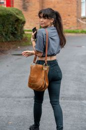 Casey Batchelor in Casual Outfit - Hertfordshire 12/02/2020