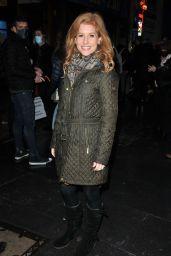 "Cassidy Janson – ""A Christmas Carol"" Press Night in London"