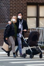 Chloe Sevigny and Sinisa Mackovic Take a Stroll in Manhattan's West Village Neighborhood 12/28/2020