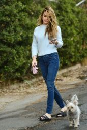 Chrishell Stause - Out in the Hollywood Hills 12/08/2020