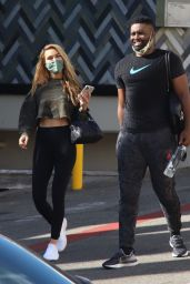 Chrishell Stause With Keo Motsepe - Beverly Hills 12/02/2020