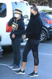 Chrissy Teigen and Her Mom at Bristol Farms in Beverly Hills 12/05/2020