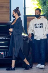 Chrissy Teigen and John Legend - LA 12/09/2020