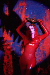 Christina Aguilera in Latex