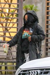 Christina Milian - Shopping for Furniture in West Hollywood 12/28/2020