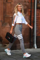 Christine McGuinness - Leaving a Photoshoot in Manchester 10/14/2020