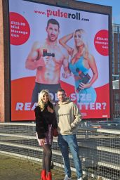 Christine McGuinness - Out in Manchester 12/16/2020