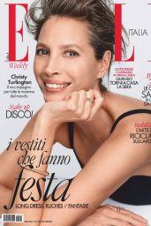 Christy Turlington - ELLE Magazine Italy January 2021 Issue