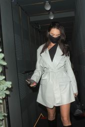 Clelia Theodorou Night Out Style - MNKY HSE in London 12/09/2020