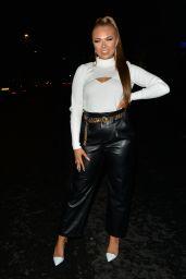 Demi Jones Night Out Style - Mayfair 12/09/2020