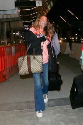 Denise Richards - LAX Airport 12/20/2020