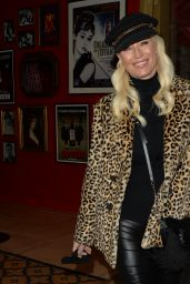 Denise Van Outen Night Out Style - Bunga Bunga in London 12/08/2020