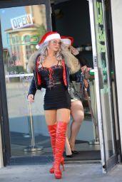 Dominica Van Trapp and Adara Jordin - Xmas Shopping in Miami 12/18/2020