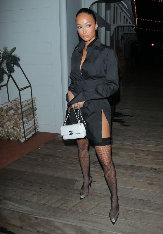 Draya Michele Night Out Style - Newport Beach 12/06/2020