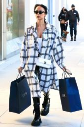 Draya Michele Shopping on Rodeo Drive in Beverly Hills 12/29/2020
