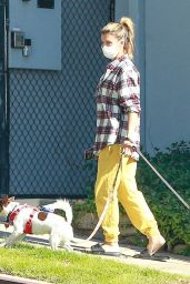 Elisabetta Canalis - Walking Her Dogs in Beverly Hills 12/13/2020