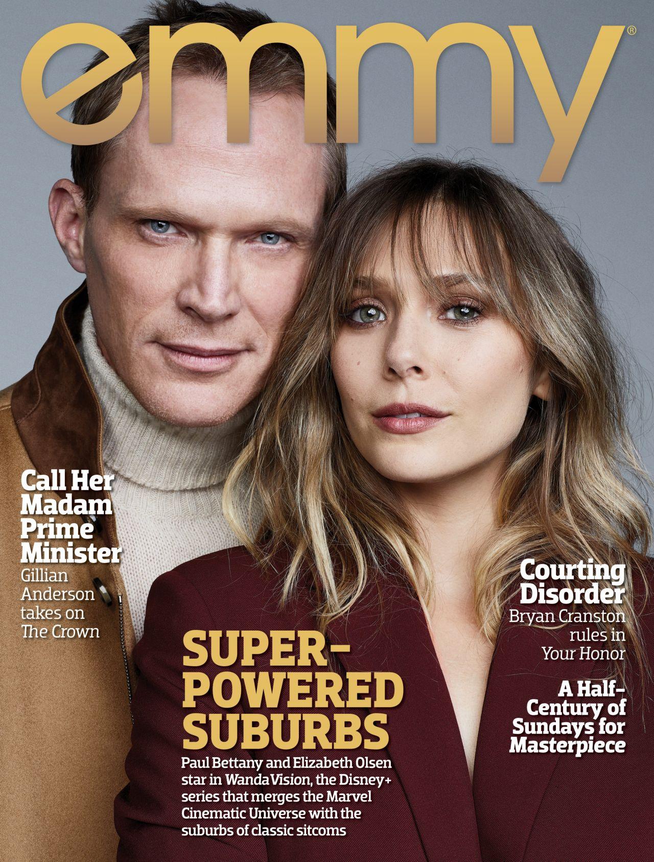 Elizabeth Olsen - Emmy Magazine 2020 • CelebMafia