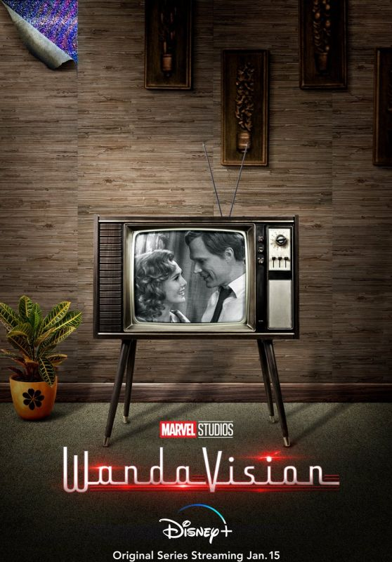 "Elizabeth Olsen - ""WandaVision"" (2021) Poster and Trailer"