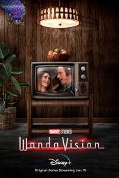 "Elizabeth Olsen - ""WandaVision"" (2021) Posters"